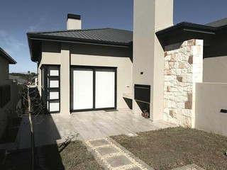 Open Patio with built-in-braai