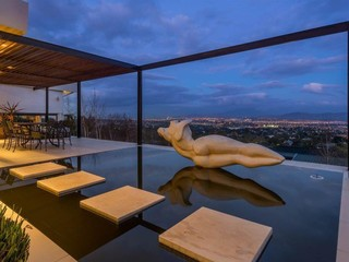 Breathtaking Night Views from Patio's